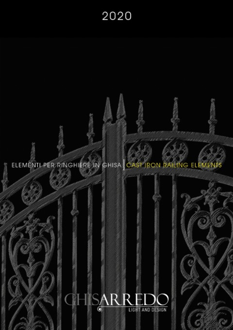 The new catalogue 2020 Cast iron railing elements is available online.